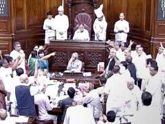 Opposition Disrupts Rajya Sabha Over VK Singh's Dog Remark, RSS Chief