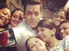 Salman Khan's Rakhi Revelry. Arpita Tweets Photos