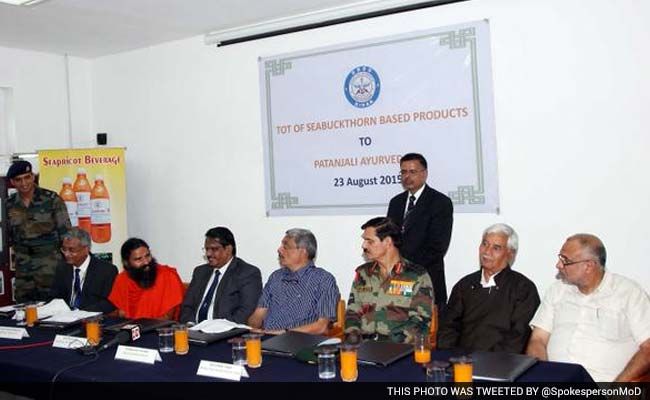 Ramdev's Company to Help Market Defence Research Body DRDO's Products