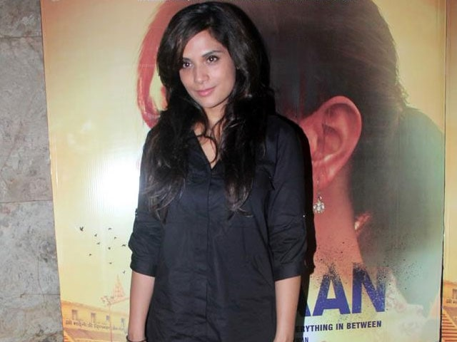 Richa Chadha: Can Never be a Part of a Brain-Dead Film