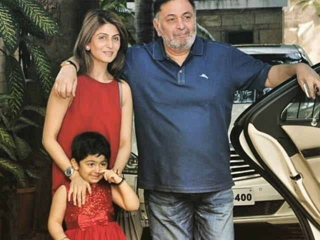 Rishi Kapoor's 4-Year-Old Granddaughter Dubsmashes 'For Her Nana'