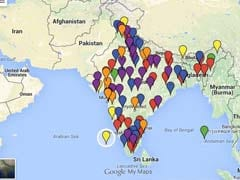 Interactive Map of Cities Chosen by Centre for Smart Cities Mission