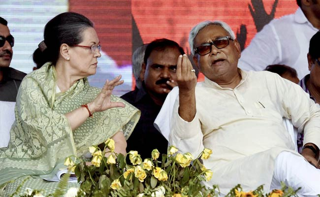 Nitish Kumar Meets Sonia Gandhi, Says 'Don't React To Modi, Set Agenda'