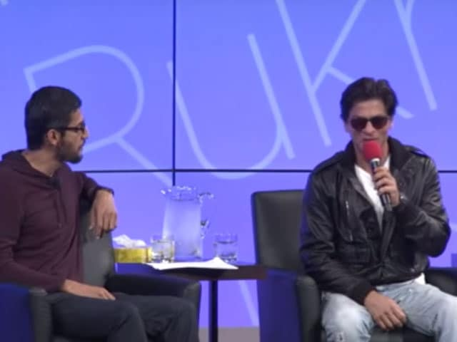 Shah Rukh Khan Once Told Sundar Pichai he Wanted to be a Software Engineer