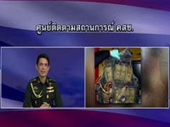 Thai Junta Broadcast Unrelated Suicide Vest Picture