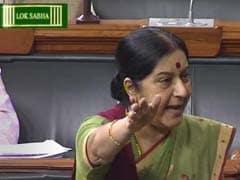 सुषमा स्वराज ने सांसद बदरुद्दीन अजमल को कहा, शुक्रिया; अजमल ने दे दी बीेजेपी को नसीहत