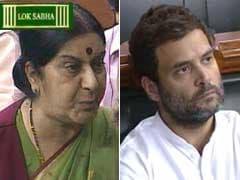 सुषमा जी... 'काले धन के प्रतीक ललित मोदी' की मदद क्यों की? : राहुल गांधी