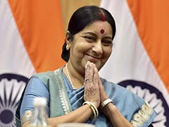 Sushma Swaraj Meets Egyptian President, Arab League Chief