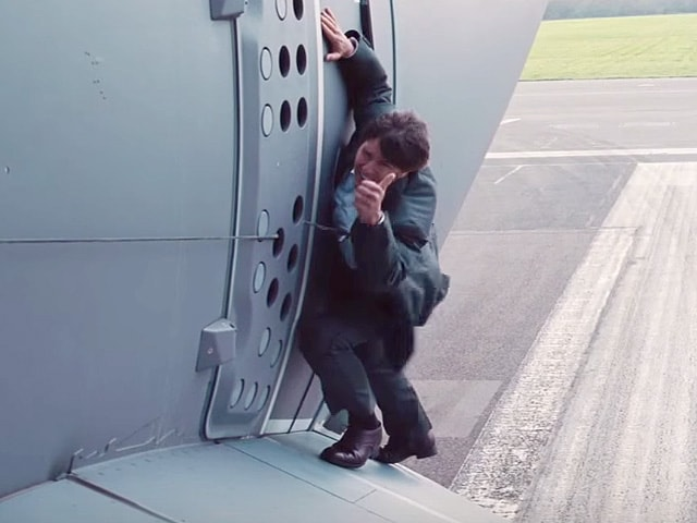 How Mission: Impossible 5's Extreme Plane Stunt Was Made