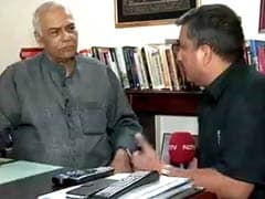 NSA Talks With Pak Will Be a Dialogue of the Deaf: BJP's Yashwant Sinha