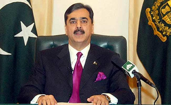 Former Pak PM Yousuf Raza Gilani Stopped From Leaving Country