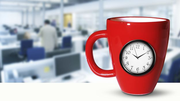 Mid-Morning Work Breaks Improve Health and Productivity
