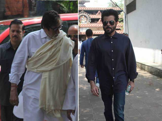 Aadesh Shrivastava Cremated; Big B, Anil Kapoor Bid Farewell