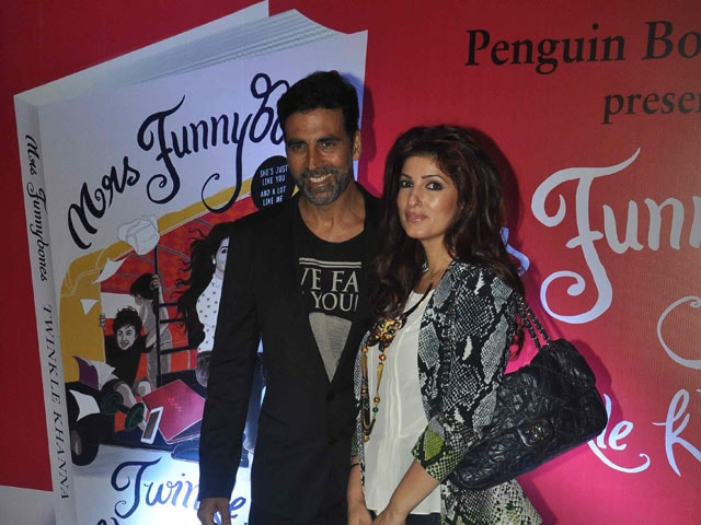 Twinkle Khanna: Akshay Wants Me to Be Like Mrs Funnybones