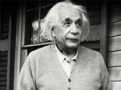 Albert Einstein's Letter On Relativity May Fetch $30,000 At Auction