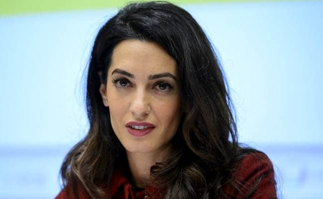 Maldives Hires Amal Clooney To Fight For Rohingya Muslims At UN Court
