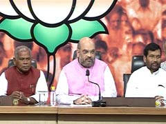 BJP Chief Amit Shah on Seat-Sharing in Bihar Polls: Highlights