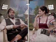 When Kangana Ranaut Pushed Her Luck With Amitabh Bachchan