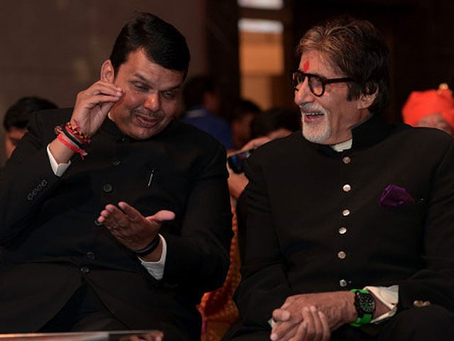 Amitabh Bachchan Wants Mumbai to Be World's 'Entertainment City'