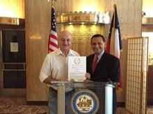 Anupam Kher Receives Honored Guest of Texas Award