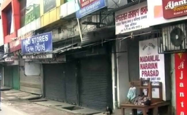 Normal Life Partially Affected by Strike in West Bengal