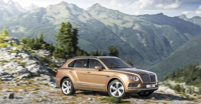 Queen of England Will be the First Owner of the Bentley Bentayga SUV