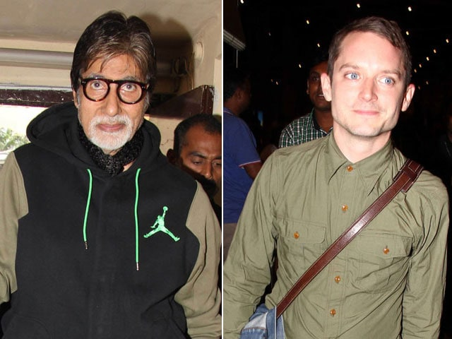 When Amitabh Bachchan 'Dropped' His Guard For Elijah Wood