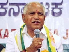 BS Yeddyurappa, Who Once Quit BJP In Blaze of Allegations, Back In Charge