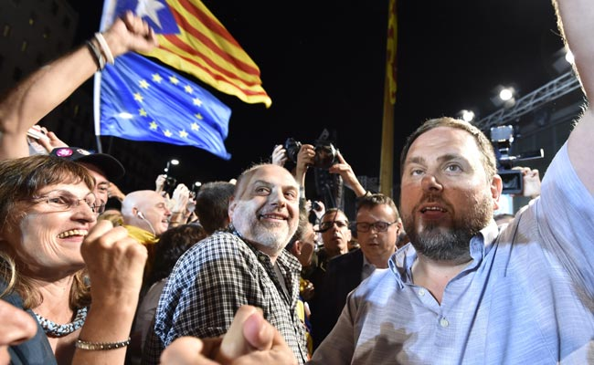 Catalonia Calls For Scotland-Style Independence Referendum