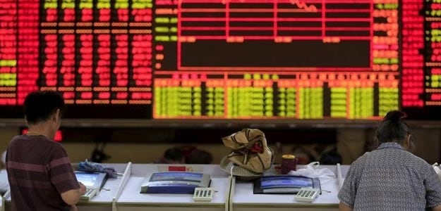 China Stocks Fall 2% on Deflation Worries, Shrug Off Firmer Yuan