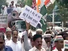 Dengue Crisis: Congress Protests Outside Arvind Kejriwal's House