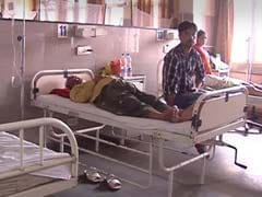 Patients Wait For Treatment As Dengue Rush Swamps Delhi Hospitals