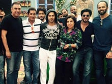 For Shah Rukh Khan, Things Just Got Serious on the Sets of <I>Dilwale</i>