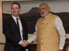 Facebook CEO Mark Zuckerberg to Interact With PM Modi on Connectivity