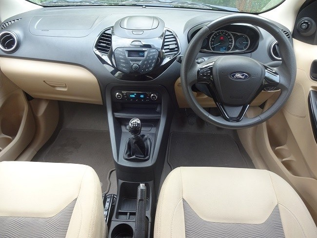 Ford Figo Aspire Cabin
