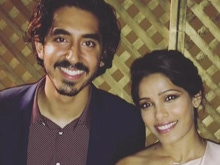 Freida Pinto and Ex-Boyfriend Dev Patel Reunite For Charity
