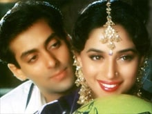 Salman Khan 'Doesn't Think' Madhuri Was Paid More in <I>HAHK</I>