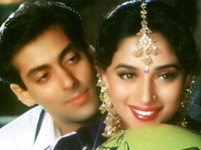 Salman Khan 'Doesn't Think' Madhuri Was Paid More in HAHK
