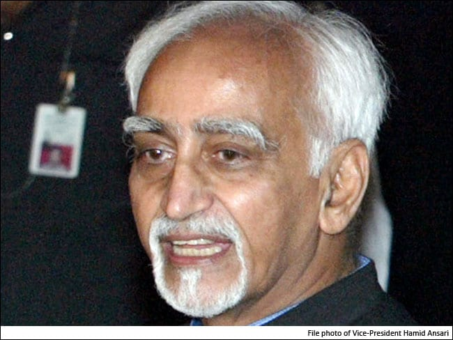 Real Joy Is In Choosing To Serve, Says Vice President M Hamid Ansari