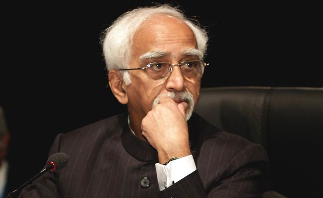 'PM's Remark At My Farewell Departure From Normal Practice': Hamid Ansari