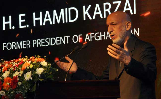 Hamid Karzai Slams Pak, Defends India's Role In Afghanistan