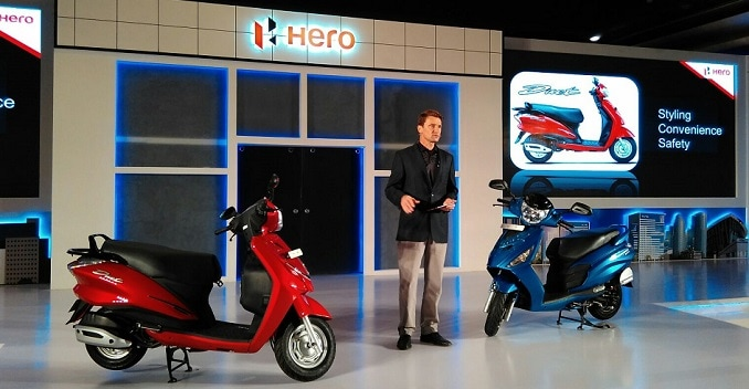 Hero Maestro Edge vs Hero Duet vs Suzuki Let's vs TVS Jupiter vs Honda Activa-i vs Mahindra Gusto: Spec Comparison