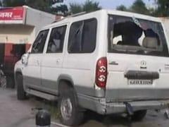 इंदौर : 100 फौजियों का हंगामा, थाना किया तबाह, पांच पुलिसवाले घायल