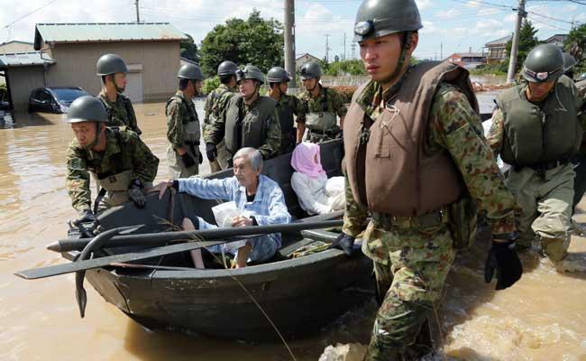 जापान में भीषण बाढ़ से दो लोगों की मौत, 11 अन्य लापता
