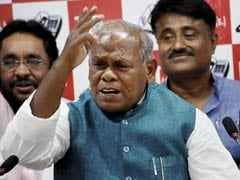 BJP Faces Aggressive RJD Bid For Wooing Dalits In Bihar: Jitan Ram Manjhi