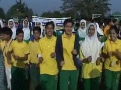 जम्मू-कश्मीर में पहली बार आयोजित हुई अंतरराष्ट्रीय हाफ मैराथन के दौरान झड़प