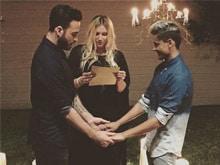 Kesha Officiates at Wedding of Gay Friends