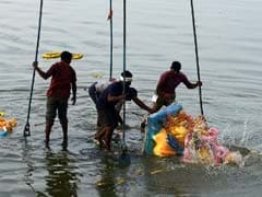 Security Stepped Up in Vadodara for Ganesh Immersion Tomorrow