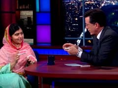 Malala Yousafzai Shows Stephen Colbert Epic Card Trick, Comes up Aces
