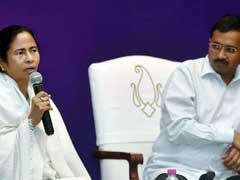 'Democracy Won In Delhi': Mamata Banerjee Congratulates Arvind Kejriwal